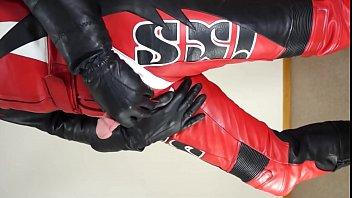 Leather Biker Suit IXS pornhub video