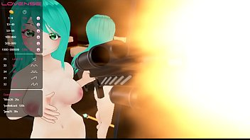 Virtual Reality Anime Girl Burns Everything With A Flamethrower