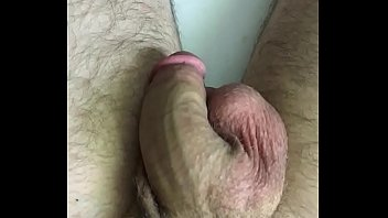 Rubbing my thick cock