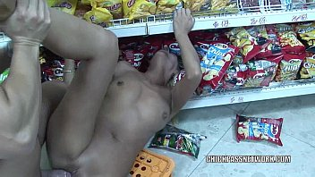 Mature slut Priscilla is banging the store clerk Thumbnail