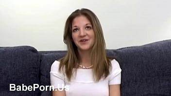 Nextdoor girl showing her pussy in porn casting