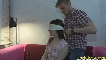 Gorgeous gf punished for cheating on her bf