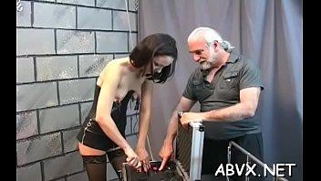Real naked amatuer Naked chicks bizarre bondage combination of real porn