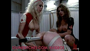 Latex fetish nurse Femdom nurses want cock