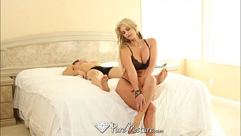 PureMature Big breasted blonde craves cock in the morning