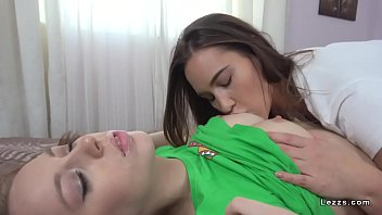 Teen lesbians rimming and toying