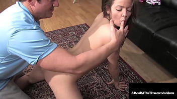Hard Cock Gaping Anal Penetration With Tight 18yo Teen Ashlyn Leigh!