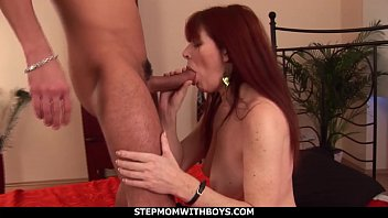 Streaming Video Stepmom With Boys Redhead Stepmom Enojoying Stepson's Cock - XLXX.video