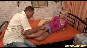 daddy fucks his beauty blonde daughter