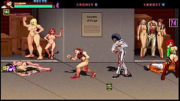 Beat 'em up game panic in hentai city 2 stage 1 chun li