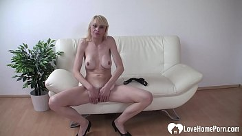 Beautiful babe in thongs likes to masturbate