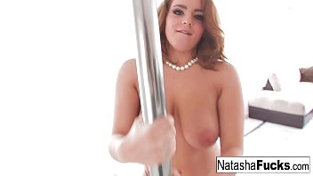 Miss Nice shows off her skills on the pole