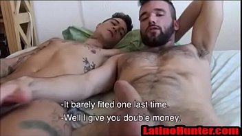 Bearded Latino and Thug gay4pay pov bareback