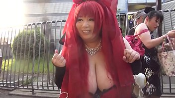 Japanese Woman With Massive Tits (Part 1) -