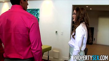 PropertySex - Abby Cross is a dirty real estate agent fucking client thumbnail