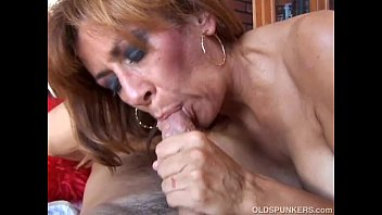 Old grannys eating cum - Super hot old spunker is such a hot fuck and loves to eat cum