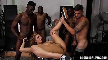 Black gang try to impregnate Moka Mora porno izle