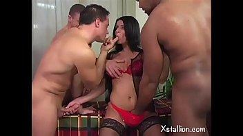 Double penetration of a single whore Vol. 13