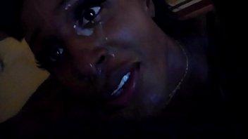 Ebony sucking big black dick