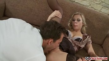 Blonde Bombshell Sindy Lucky Enjoys Getting Her Slit Stuffed