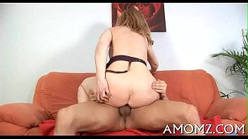 Sex addicted mom in a sexy act