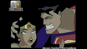 Cartoon anal creampie Justice league porn - superman for wonder woman