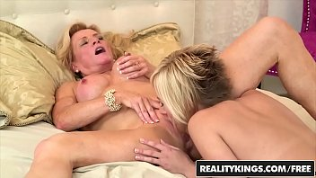 RealityKings - Moms Lick Teens - (Amanda Verhooks, Kate England) - Ripe licking brunette kissing