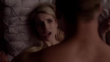 Emma Roberts Scream Queen All Sex Scene 3 min