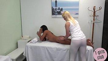 Horny ts massage turns into hard anal