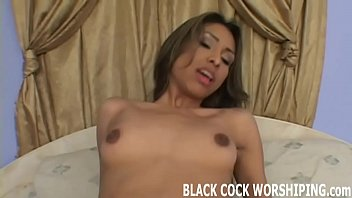 Watch his big black cock stretching me out
