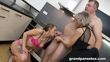 Senior couple fucking - Teen fucks old couple like in the good ol days