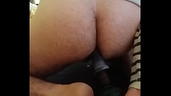 Wife loves husband with tool in ass