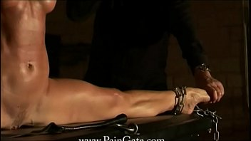Flexible Slave girl Alex Zothberg whipping and punishment compilation