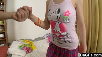 Teen Ass Fingered and Toyed After School