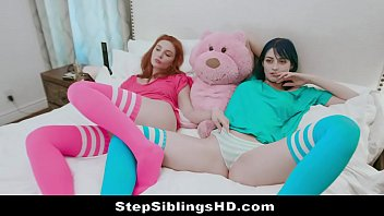 Hot Thot Sisters Get Horny For Sex & Stepbro Joins Them Preview