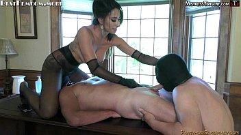 Femdom forced bi and pegging with Mistress Tangent