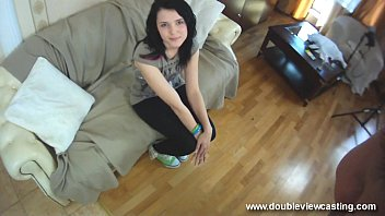 DOUBLEVIEWCASTING.COM - GINA BLOWS A GUY SWEETLY (POV VIEW)