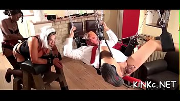 Free female fisting video Headmistress machine tortures 10-pounder