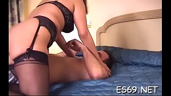 Filthy sweetie gets huge rod into her nana