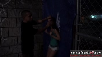 Russian mom punished and pee domination Rough outdoor public