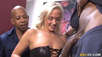 Molly Rae Interracial Threesome