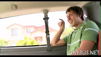 Lusty transaction with juvenile gay
