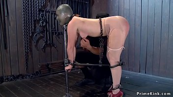 Orlando fl bdsm - Redhead in strait jacket gets tormented