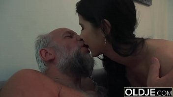 Lady Dee Teen Pussy Licking And Fuck Ends with Messy Facial From Grandpa