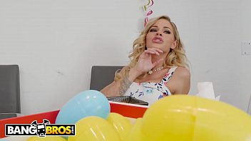 BANGBROS - MILF Jessa Rhodes Fucks Her Step Nephew Alex Legend During Easter Brunch!