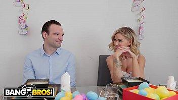 BANGBROS - MILF Jessa Rhodes Fucks Her Step Nephew Alex Legend During Easter Brunch!
