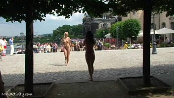 Linda And Agnes Naked In Public