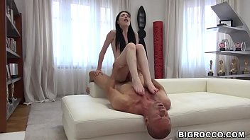 Pale Babe Mia E vans Gets Her Pussy Pounded By ussy Pounded By Rocco Siffredi