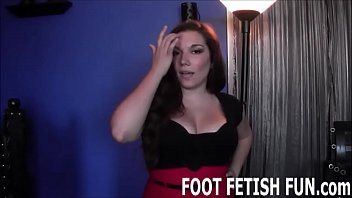 Your first job is to worship my feet