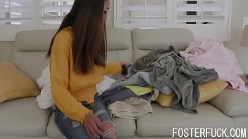 Dad And Mom Crave The Touch OF Their Foster Daughter- Aria Skye & Misha Mynx